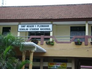 Gedung Depan SMP 1 Plemahan